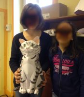 periscolaire bourg 2016 - chat taille réelle