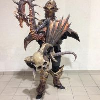 armure-lazarus-GW2  / arc breathfire / demon head