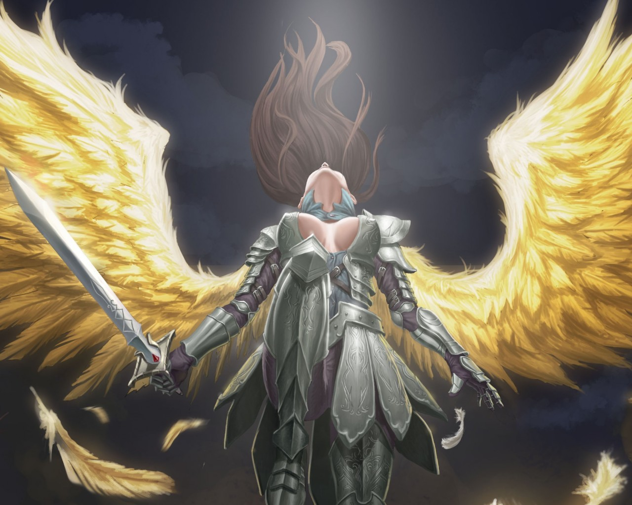 ange en armure - ascension