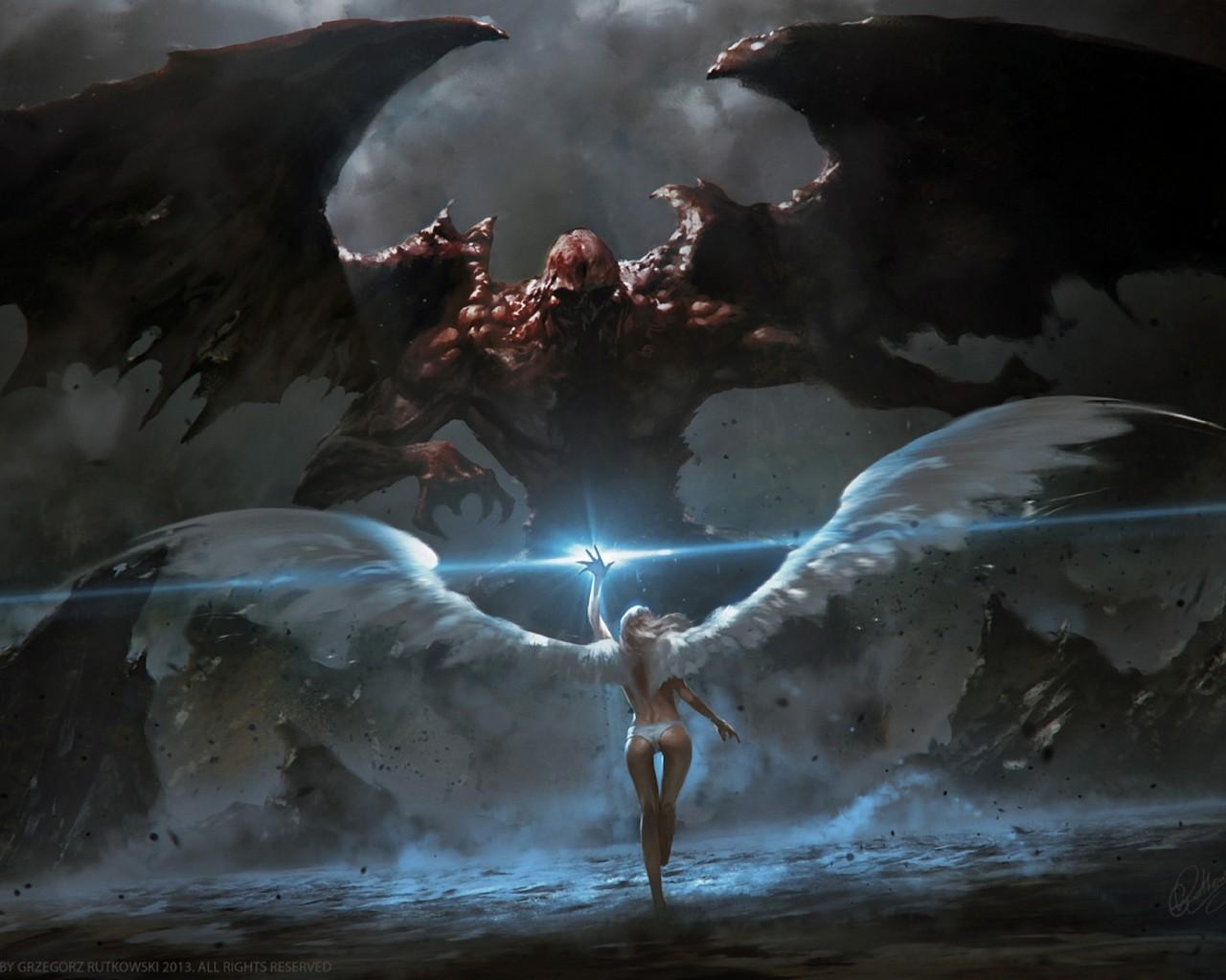 ange vs demon